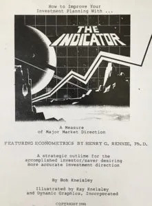 """""""The Indicator"""" - book cover"""